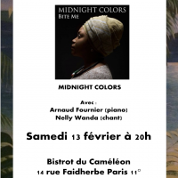 Midnight Colors au Bistrot du Caméléon