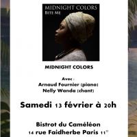 Midnight Colors au Bistrot du Caméléon