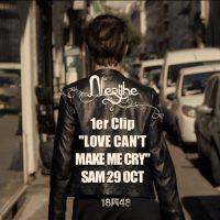 Découvrez le teaser du clip de Nerijhe &quote;Love can't make me cry&quote;